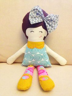 cutest handmade doll!! Handmade Doll - the Olivia