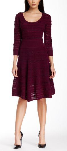 Catherine Malandrino Wool Blend Sweater Dress