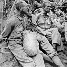 World War II, the Bataan Death March, American Prisoners in the Philippines, 1942