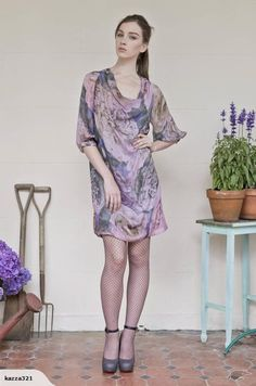 Trelise Cooper 'Floral Act' silk dress, size 8-10   Trade Me