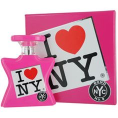 Bond No. 9 I LOVE NY perfume. Insanely expensive but insanely delicious. I like their shower gels