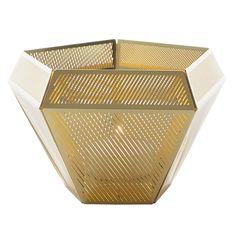 Christmas Gift Idea: Cell tea light holder, brass, by Tom Dixon.