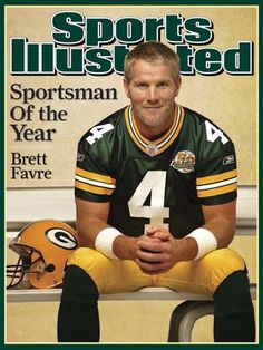 Brett Favre  #4, QB  Green Bay Packers; New York Jets; Minnesota Vikings; retired 2010.