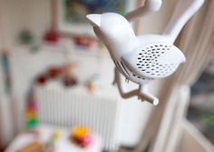 Chick-a-Dee Smoke Detector - WAY cuter than a normal one! | fabuloushomeblog.comfabuloushomeblog.com