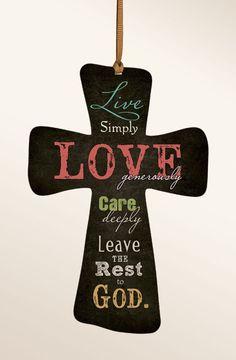 decorative wooden crosses   Mini Cross :: Decorative Crosses :: Home Accessories :: P....