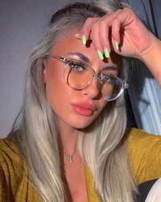 fashion eye glasses for women 2020 & fashion eye glasses for women . fashion eye glasses for women over 50 . fashion eye glasses for women 2020 . fashion eye glasses for women round face Cute Glasses Frames, Womens Glasses Frames, Cool Glasses, Women In Glasses, Transparent Glasses Frames, Free Glasses, Hipster Glasses, Cheap Eyeglasses, Eyeglasses For Women