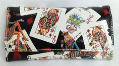 Queens Playing Cards Wallet by Sydney Love. $18.95. This wallet features Queens playing cards and jokers.