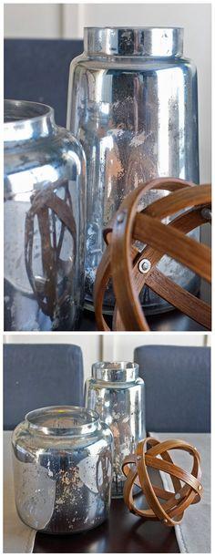 "MERCURY GLASS :: DIY Tutorial for the ""authentic"" look. | #diy #mercuryglass #tealandlime"