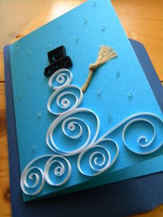 Some great quilling pics- ideas for holiday cards or artwork.