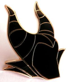 Maleficent's horn hood pin