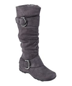 Gray Jester Boot