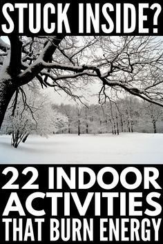22 Indoor Snow Day Activities for Kids to Keep Your Children Entertained 22 Indoor Activities for Kids to Burn Energy Physical Activities For Kids, Rainy Day Activities For Kids, Fun Indoor Activities, Indoor Activities For Kids, Home Activities, Winter Activities, Senior Activities, Nature Activities, Kids Fun