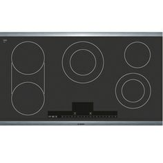 Bosch�36-in Smooth Surface Electric Cooktop