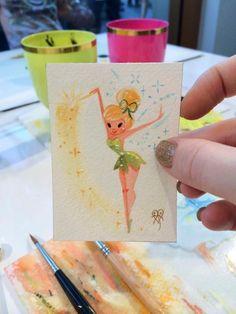 Ideas disney art painting ideas artists for 2019 Drawing Cartoon Characters, Character Drawing, Cartoon Drawings, Art Drawings, Disney Paintings, Mini Paintings, Miniature Paintings, Disney Love, Disney Art