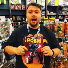 Jason's pick of the week is Robin Son Of Batman #7 from DC Comics by Patrick Gleason and Scott McDaniel. #ndcomics #Pittsburgh #ndcciii