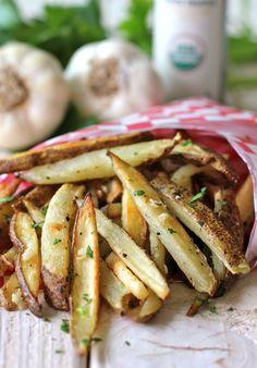 Garlic Truffle Fries - Vegan
