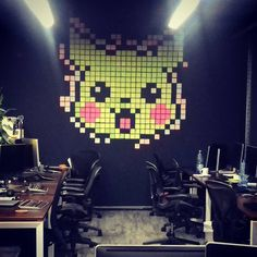 Why not make a post-it Pikachu? #lateral