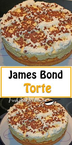 James Bond, Kreative Desserts, Sweet And Salty, Sweet Life, Coffee Cake, No Bake Cake, Catering, Biscuits, Food And Drink