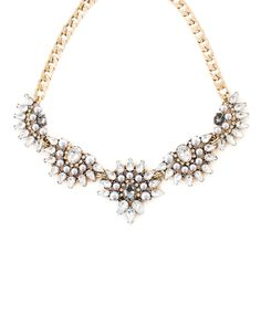 Elisa Crystal Collar Necklace from The Shopping Bag