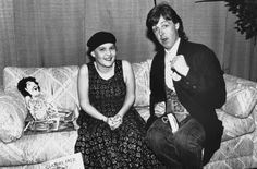 Paul McCartney and the girl in the black beret | KSHE 95