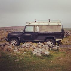 "glengarrysportingclub: "" Land Series III sighting at Black Head, Co. Clare today. """
