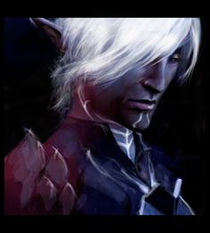 Dragon age: Fenris by olivegbg