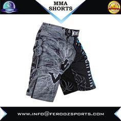 Custom MMA Shorts Hot Sale Men's Blank Boxing MMA Fight Shorts FSW-14009