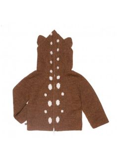 Reversible Hoodie / Bambi - Oeuf - Designers : Fawn Shoppe - Global Boutique For Unique Children's Designs
