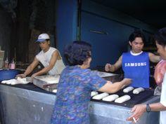 ベトナム、ホーチミン(2004年)  フランスパン工房