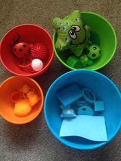 Сенсорные коробки для малышей от 6 до 12 мес