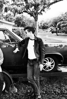 Alex Turner, the perfect mix of dapper, greaser, and old school rock and roll.