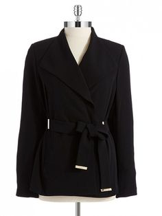 Must-Have for Fall 2014 // Calvin Klein Belted Blazer