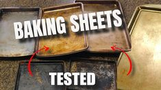 Cleaning Baking Sheets, Cookie Sheets, Baking Soda, Tips, Youtube, Cleaning Stove Tops, Youtubers, Sheet Pan, Youtube Movies