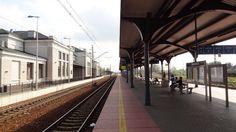 Modernised railway station in Zawiercie