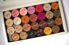 morphe single eyeshadows (names)