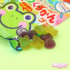 Buy Kabaya Grow-up Fish & Frog Gummy Candy | Free Shipping | Blippo Kawaii Shop