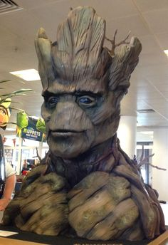 Guardians of the Galaxy Groot Cake by Tattooed Bakers