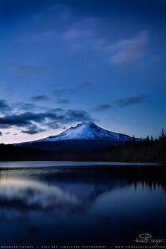 Hood Twilight (Mount Hood) by Howard Snyder on 500px