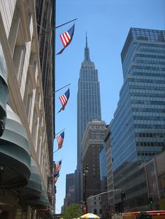 New York City and the Empire State Building - would love to go there