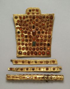 Hunnish - Set of Horse Trappings - Walters 571050, 571051, 571052, 571060 - View A - Huns - Wikipedia, the free encyclopedia