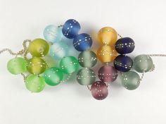 Lampwork Beads, Stud Earrings, Jewelry, Jewellery Making, Ear Studs, Jewelery, Jewlery, Jewels, Jewerly