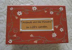 Custom Keepsake Box Bridesmaid Gift Wooden by simpletreasures4you