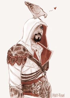 Ezio - http://hvit-ravn.tumblr.com/