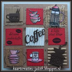 JU0948 plakbaar kurk   Altenew Coffee Love stamps set  Fashion 1 Set Koffie Serie Patroon  Ali Express  Stampin Up Gorgecus Grunge Clear 130517  Stempel Atelier Koffietijd 016