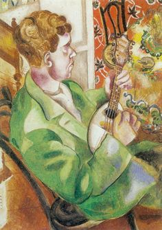Marc Chagall – David Playing with the Mandolin