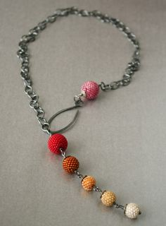 great necklace by tqbdesigns on Etsy. Have other jewelry by her! It is great stuff. this necklace is $175.