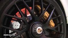 PR Car Wrapping Porsche 991 Turbo S Cabrio a Blanco Mate con detalles by...