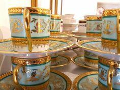 Porcelana de Limoges #porcelanaantigua #porcelanafrancesa #brocante #masphere #antiguedades #olavide #chamberi
