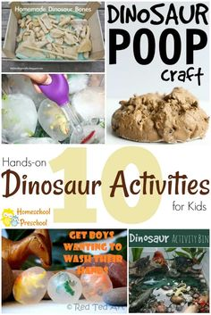 These hands-on dinos