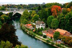 Aare River in Bern